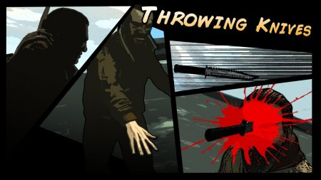Throwing Knives для GTA 4