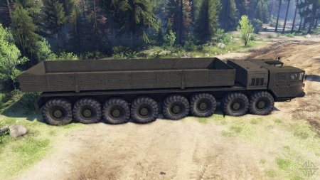 МАЗ-7410 16x16 для Spin Tires 2014